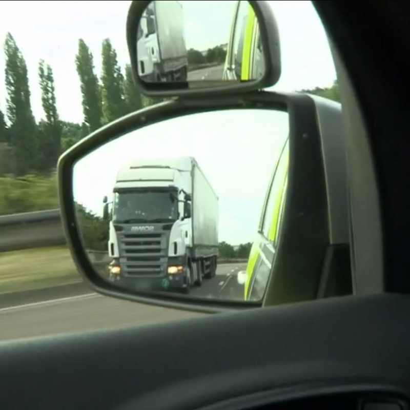 LGV in wing mirror